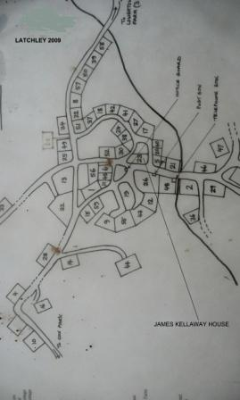 Latchley Map